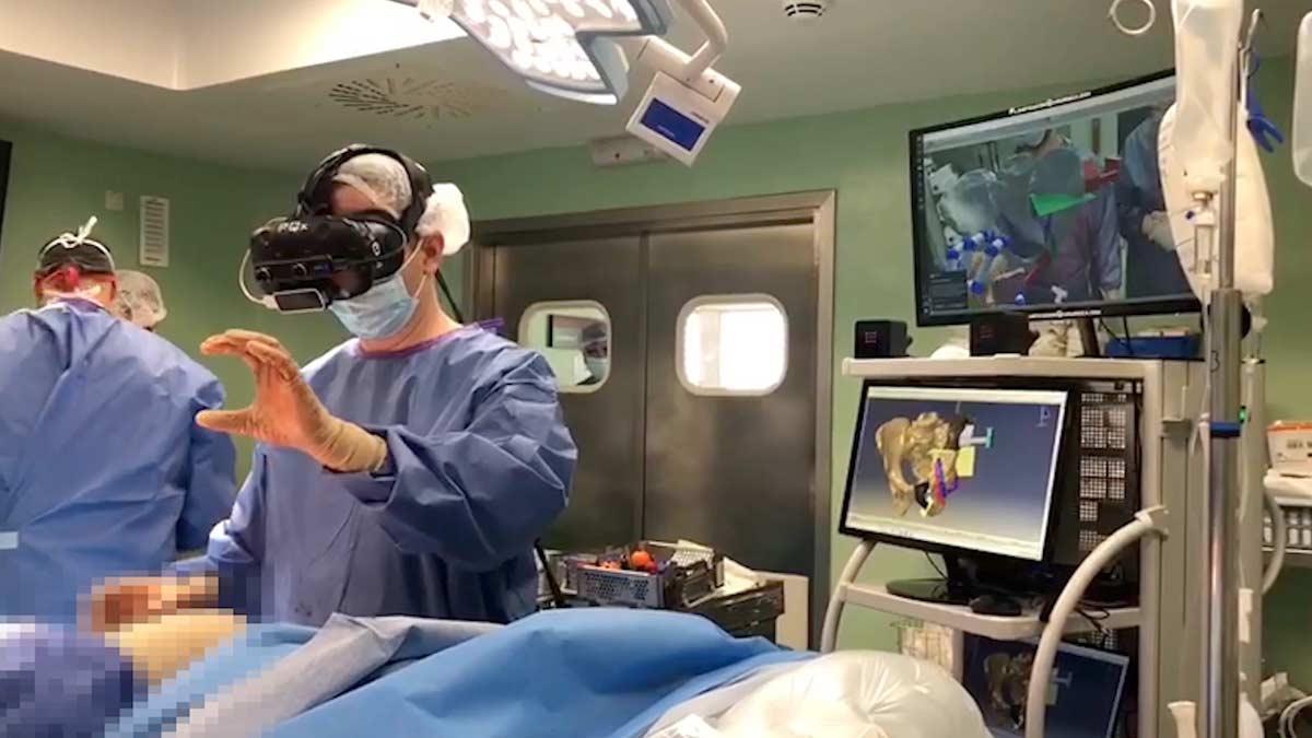 VEGA Navigator for orthopedic tumor surgery