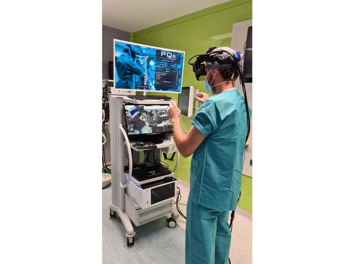 PQx VarVal Sistema de nagegación quirúrgica